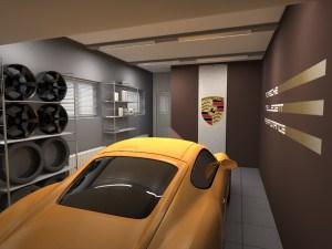 Дизайнерская отделка гаража