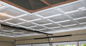 Необходимые мероприятия по утеплению и отделке потолка в гараже