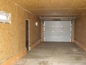 Внутренняя отделка гаража ОСБ-панелями