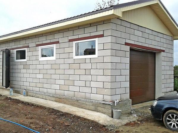 Фундамент под кирпичный гараж