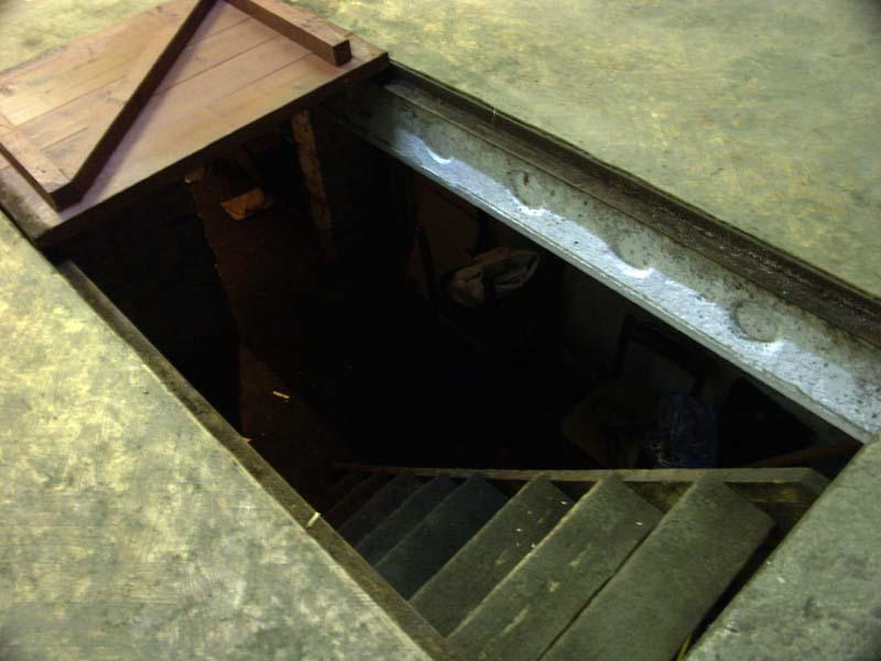 Вытяжка в гараже из погреба