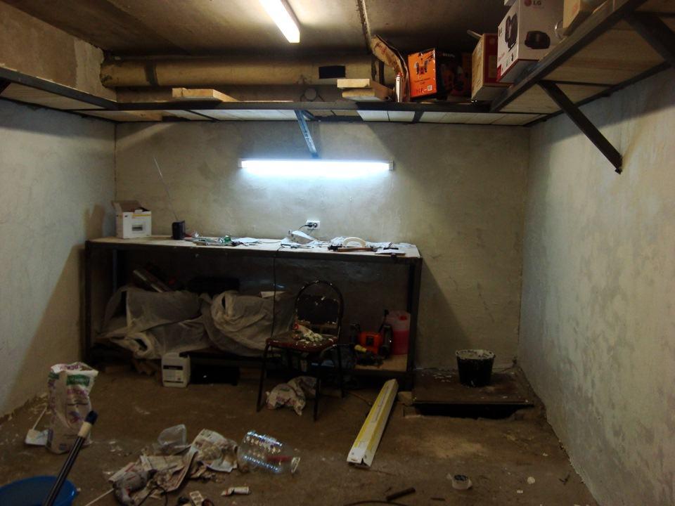 Освещение в подвале гаража своими руками 85