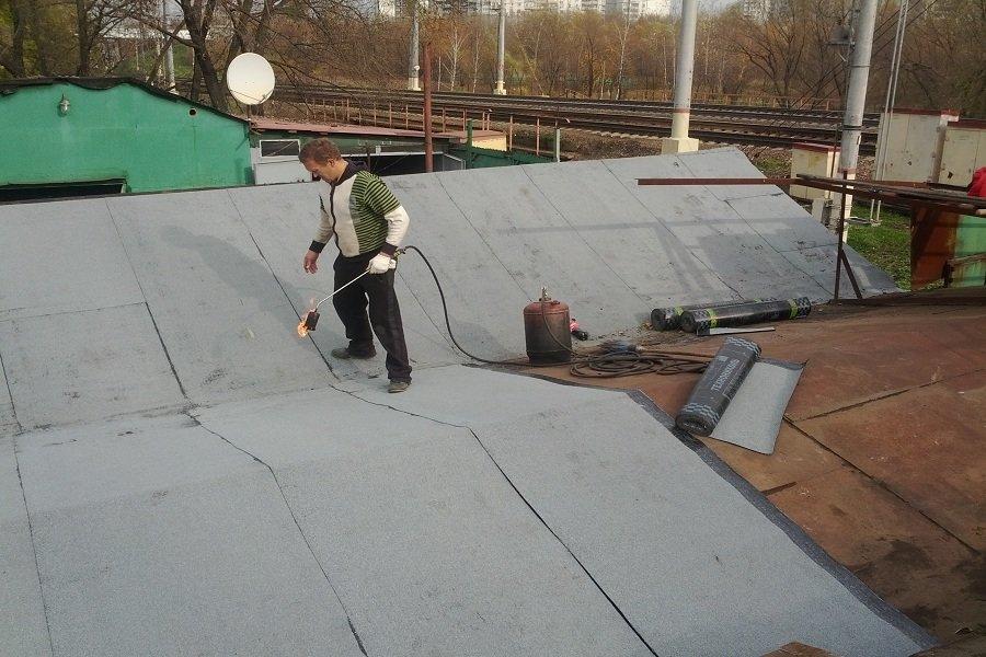 Ремонт крыши гаража металлического своими руками 87