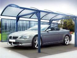 Использование поликарбоната для крыши