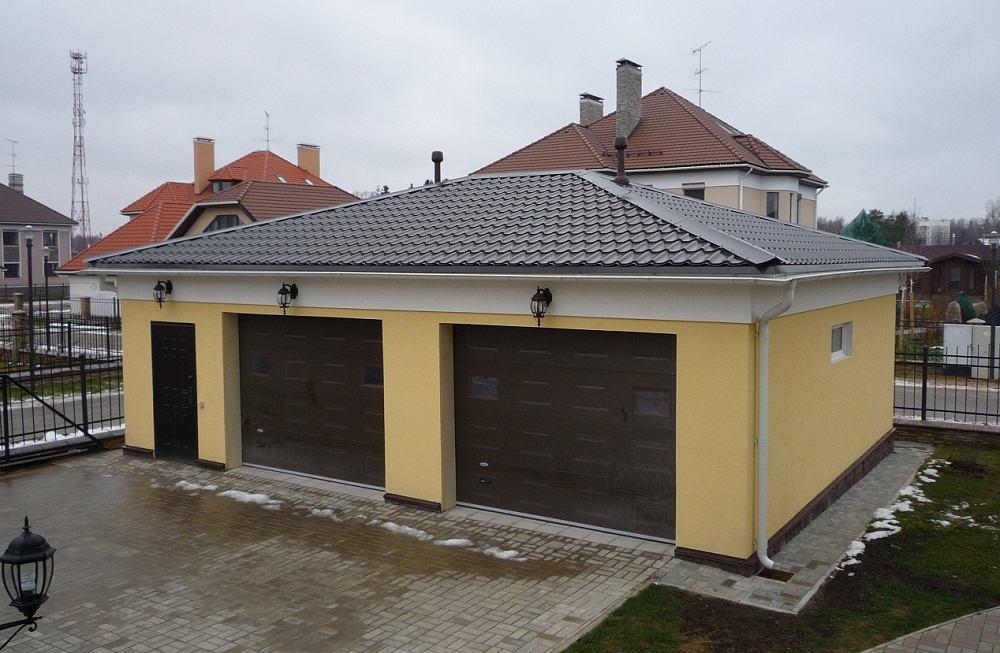 Ремонт крыши гаража своими руками фото