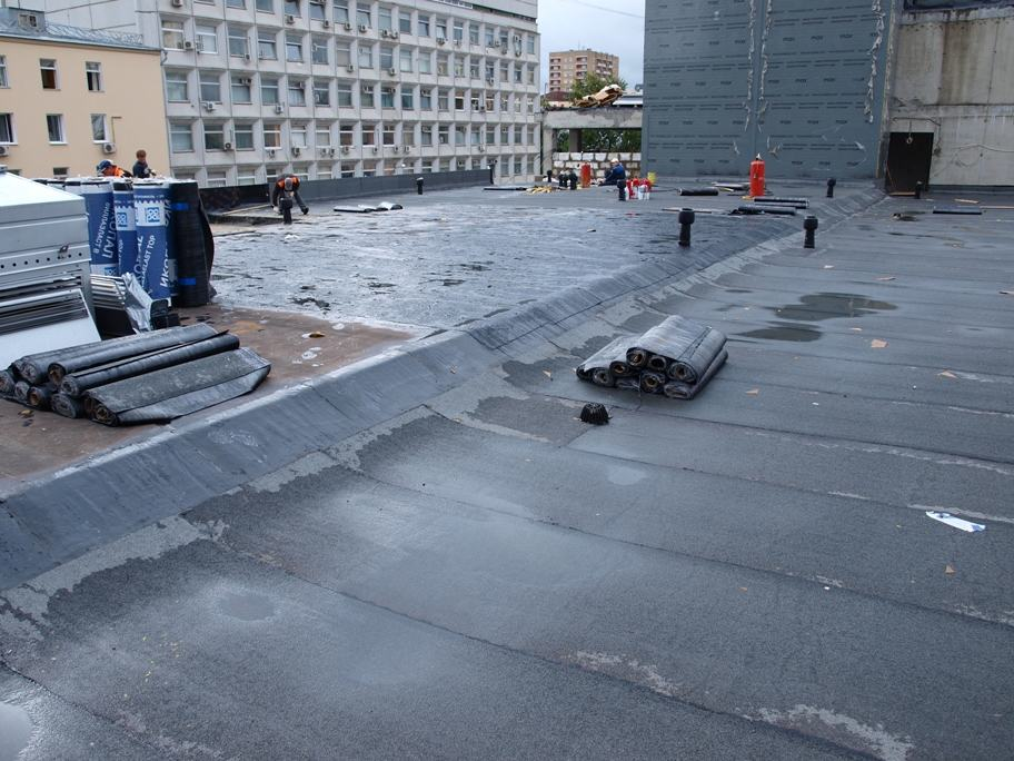 Как залить бетоном крышу гаража