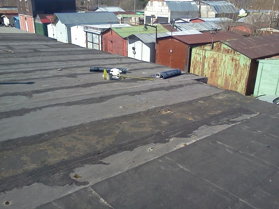 Ремонт крыш гаражей