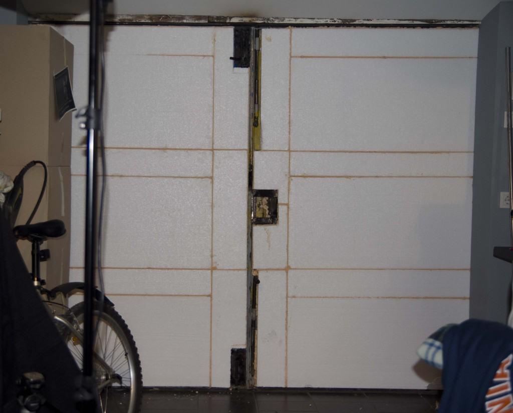 Как утеплить гаражные ворота своими руками фото