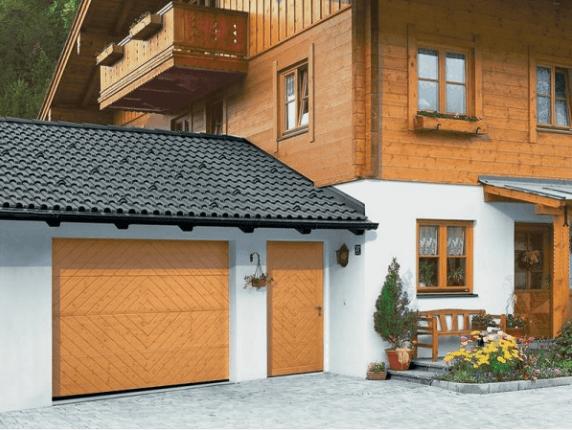 Крыша гаража пристроенного к дому