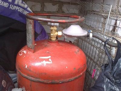 Баллон для сжиженного газа