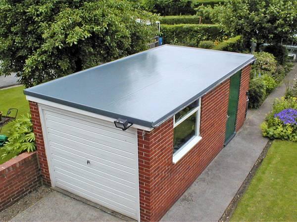 Вариант плоской крыши