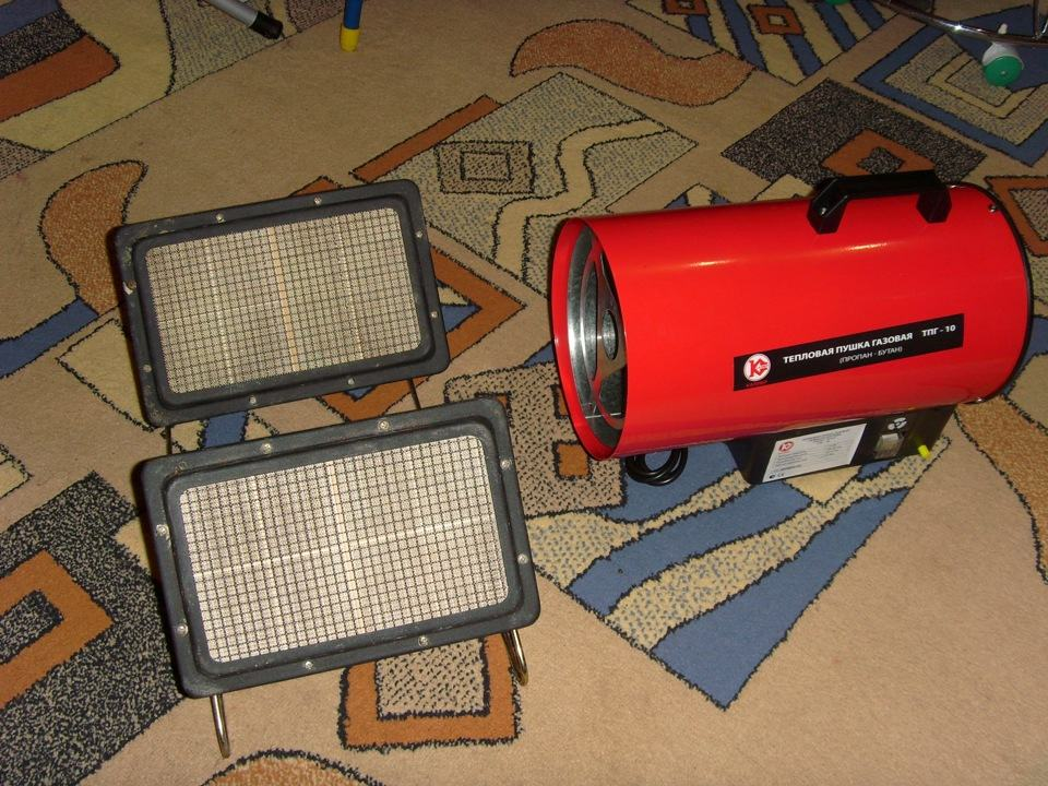 Аппарат для воздушного отопления гаража