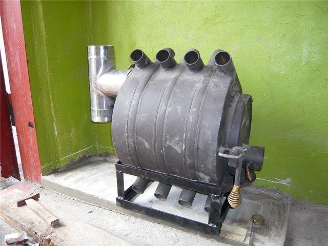 Булерьян для отопления гаража