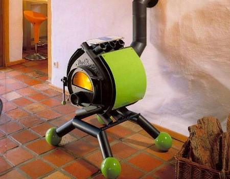 Дровяная печь для гаража Булерьян