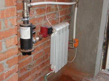 Используем отопление для обогрева гаража