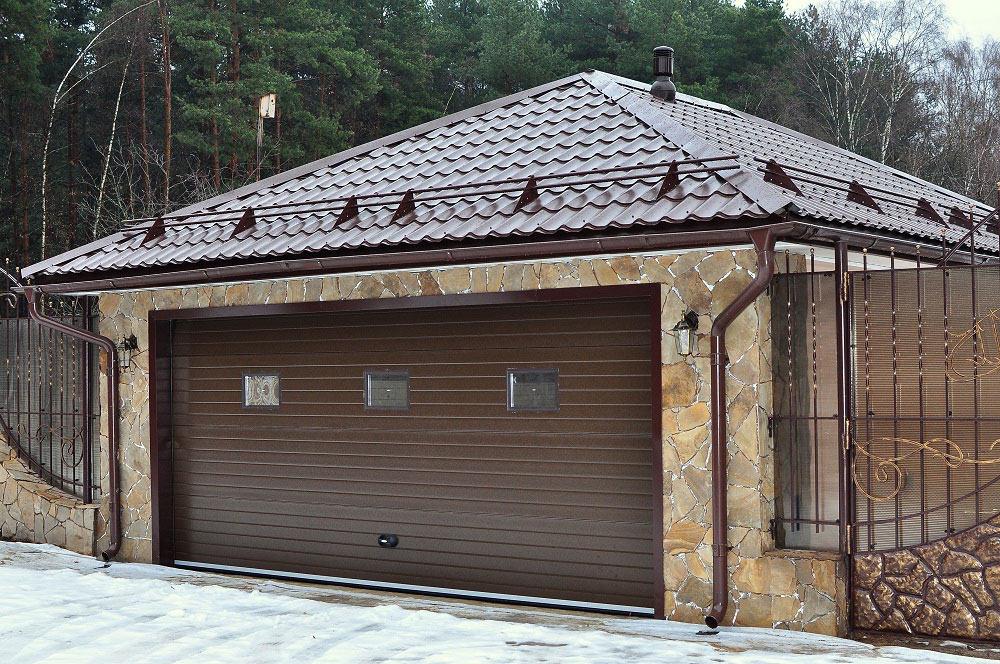 Материалы для кровли крыши гаража
