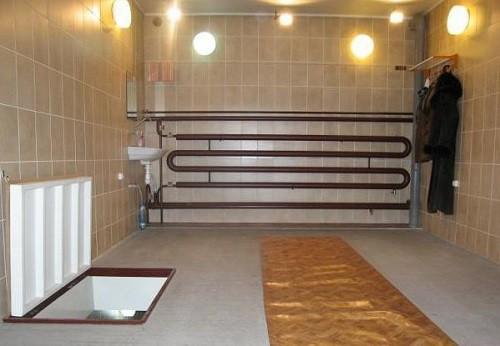Применяем водяное отопление гаража