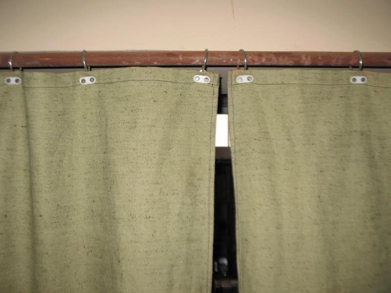 Гаражные шторы своими руками