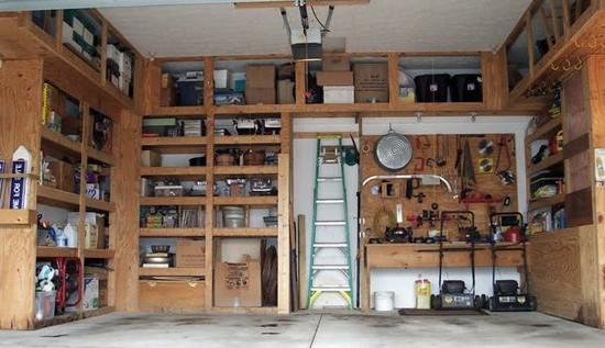 Как сделать шкафы в гараже своими руками