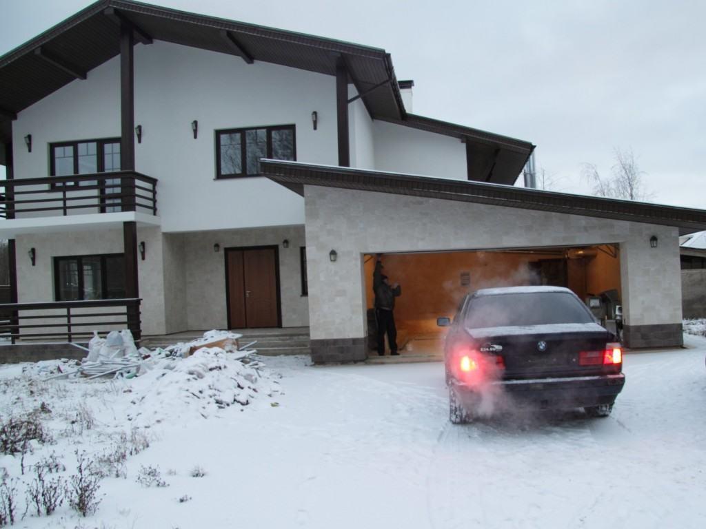 Строим теплый гараж
