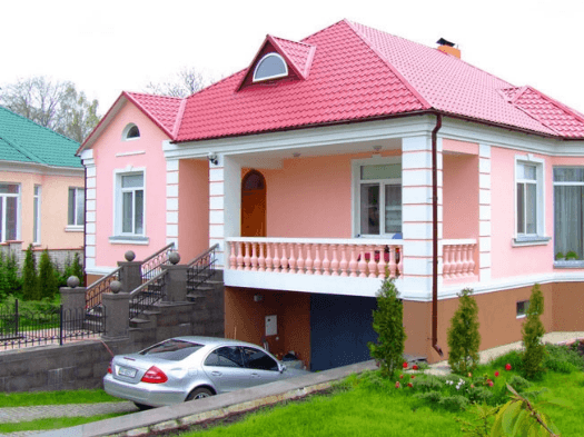 Гараж, встроенный в дом