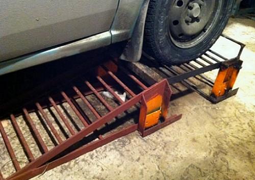 Эстакада для гаража