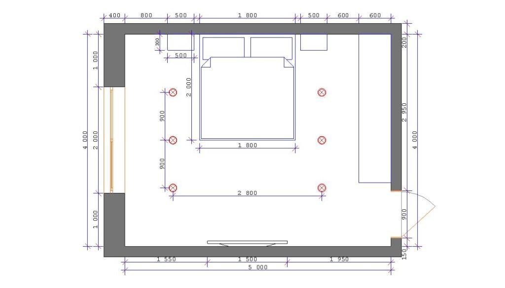 Детальный план каждого помещения в доме