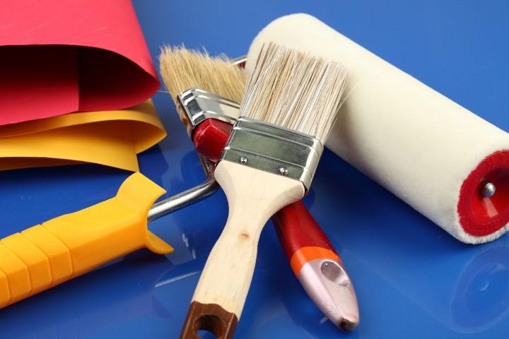 Инструменты для покраски металлической поверхности