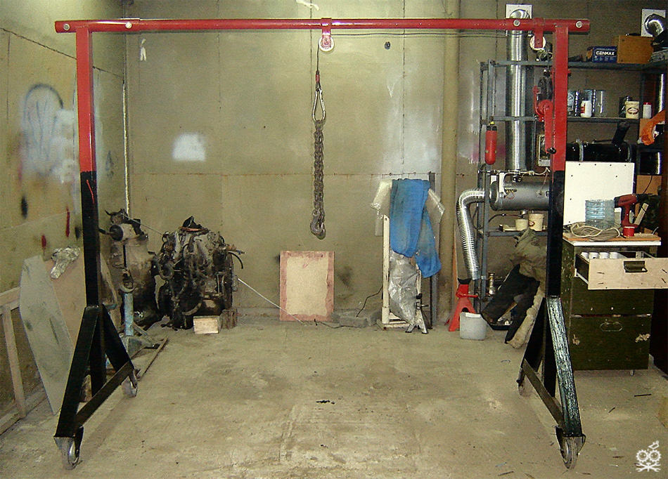 Производство в гараже своими руками 1