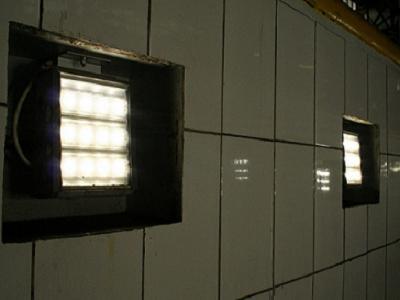 Освещение в гараже смотровой ямы