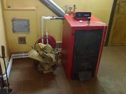 Отопление гаража на твердом топливе
