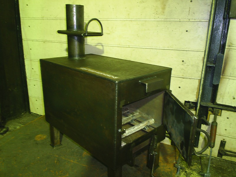 Построить печь буржуйку своими руками 38