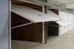 Подъемно-поворотные ворота на гараж