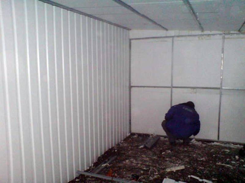 Применяем для утепление гаража пенопласт
