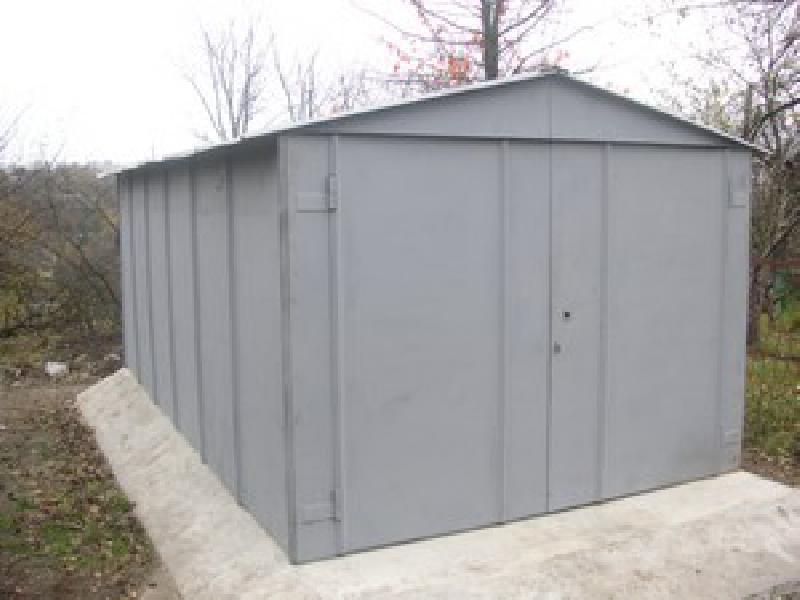 Разборный металлический гараж