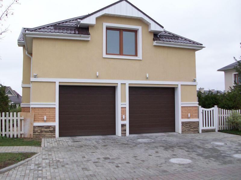Размер стандартных гаражных ворот