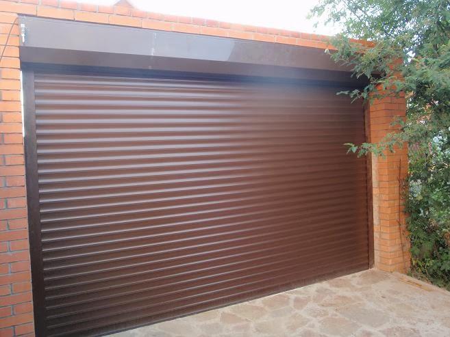 Рулонные ворота на гараж