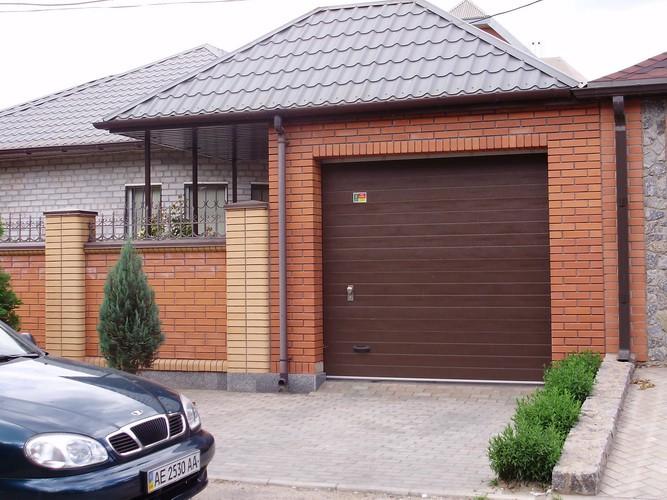 Стандартные размеры гаражных секционных ворот