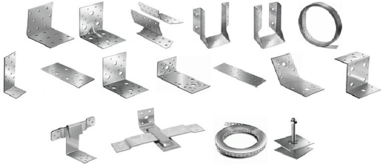 Уголки для соединения профильных труб шурупами
