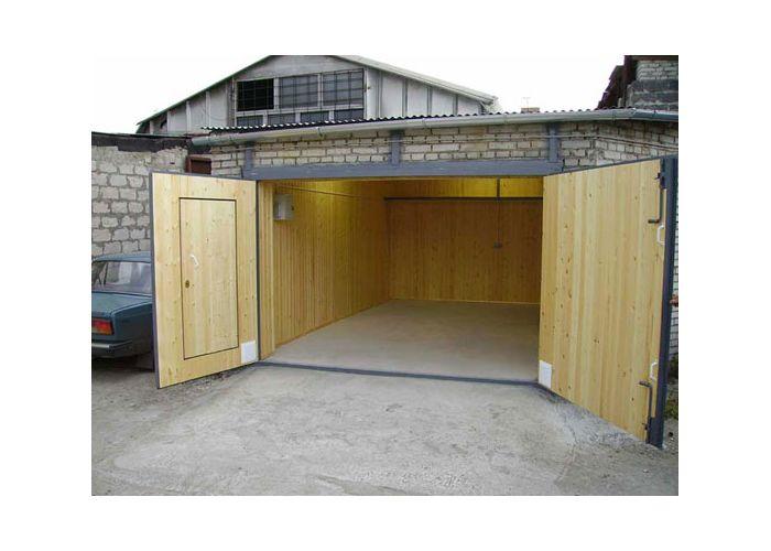 Постройка гаража своими руками фото