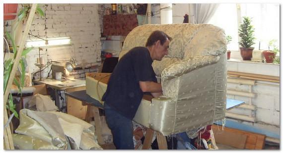 Изготовление мягкой мебели в гараже