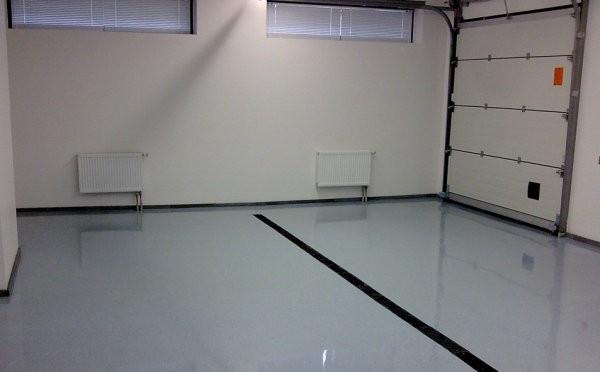 Покрытие для гаража полимерное