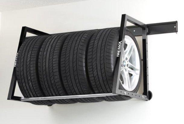 Как правильно хранить колёса в гараже