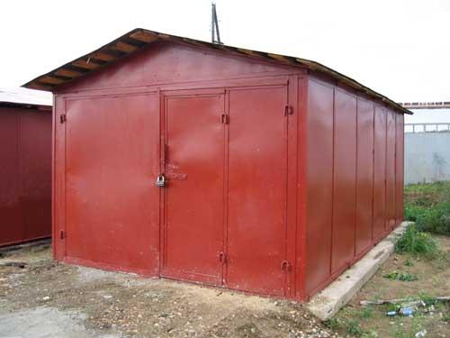 Металлические гаражи сборные