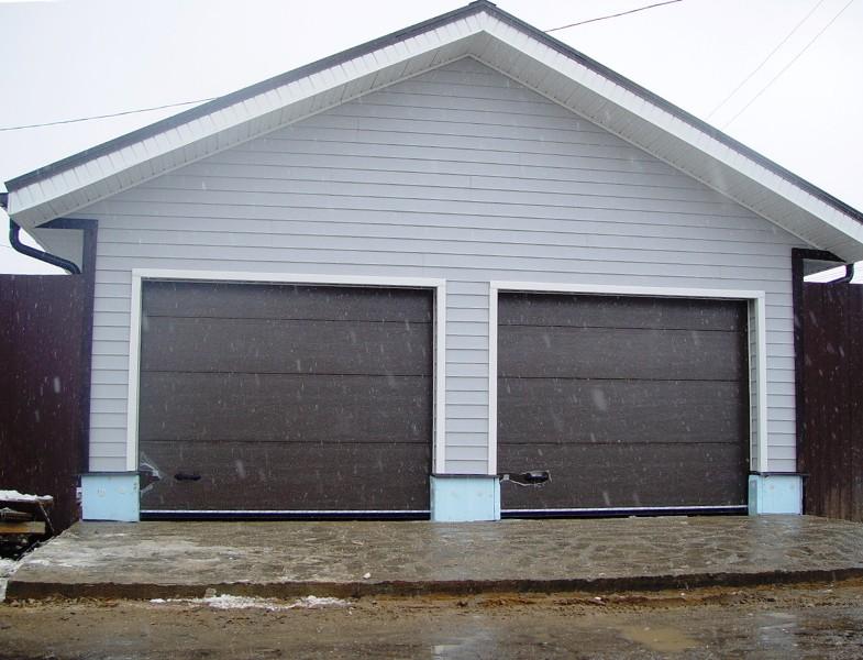 Оптимальная ширина гаражных ворот