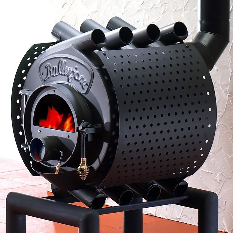 Печь Булерьян - идеальный вариант для отопления гаража