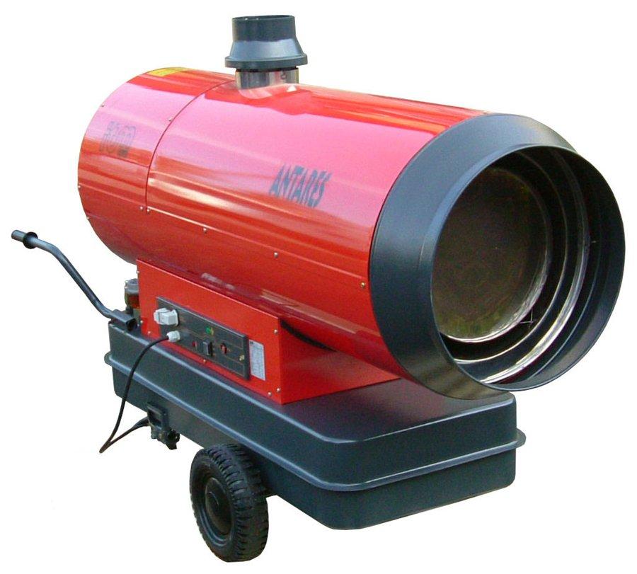 Пример электрической тепловой пушки