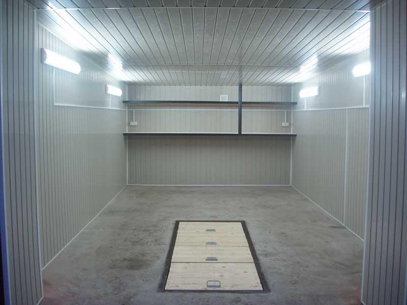 Пример светодиодного освещения в гараже