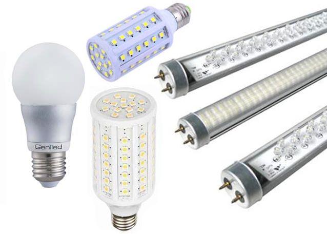 Разновидности и характеристики светодиодных ламп