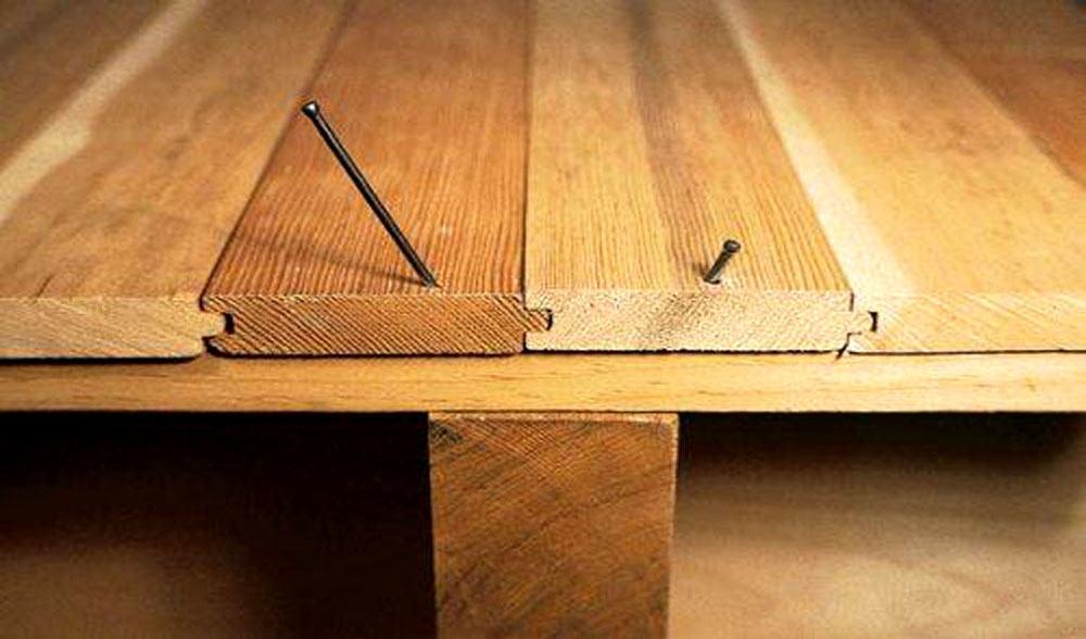 Настелить деревянный пол своими руками